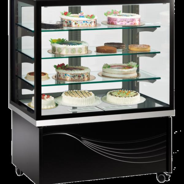 Kuchen und tortenvitrine