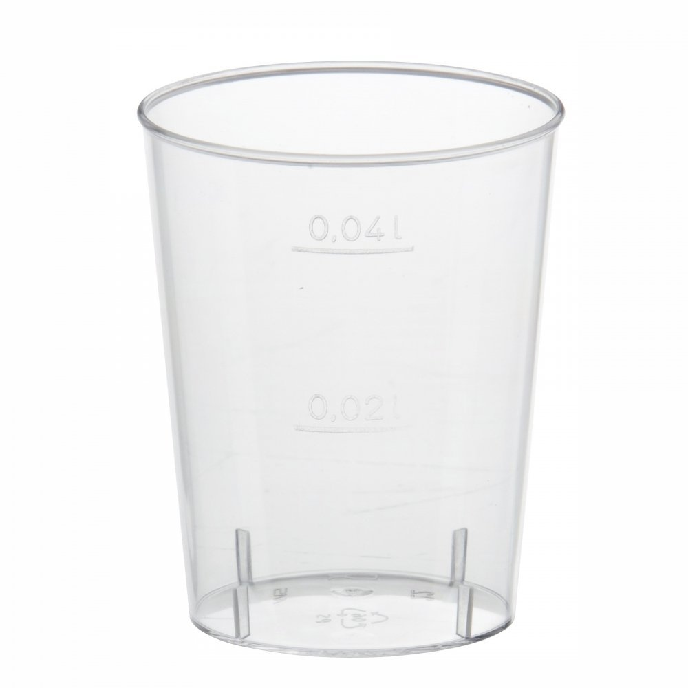 1000 Einweg Schnapsgläser 2cl Trinkbecher Plastikbecher